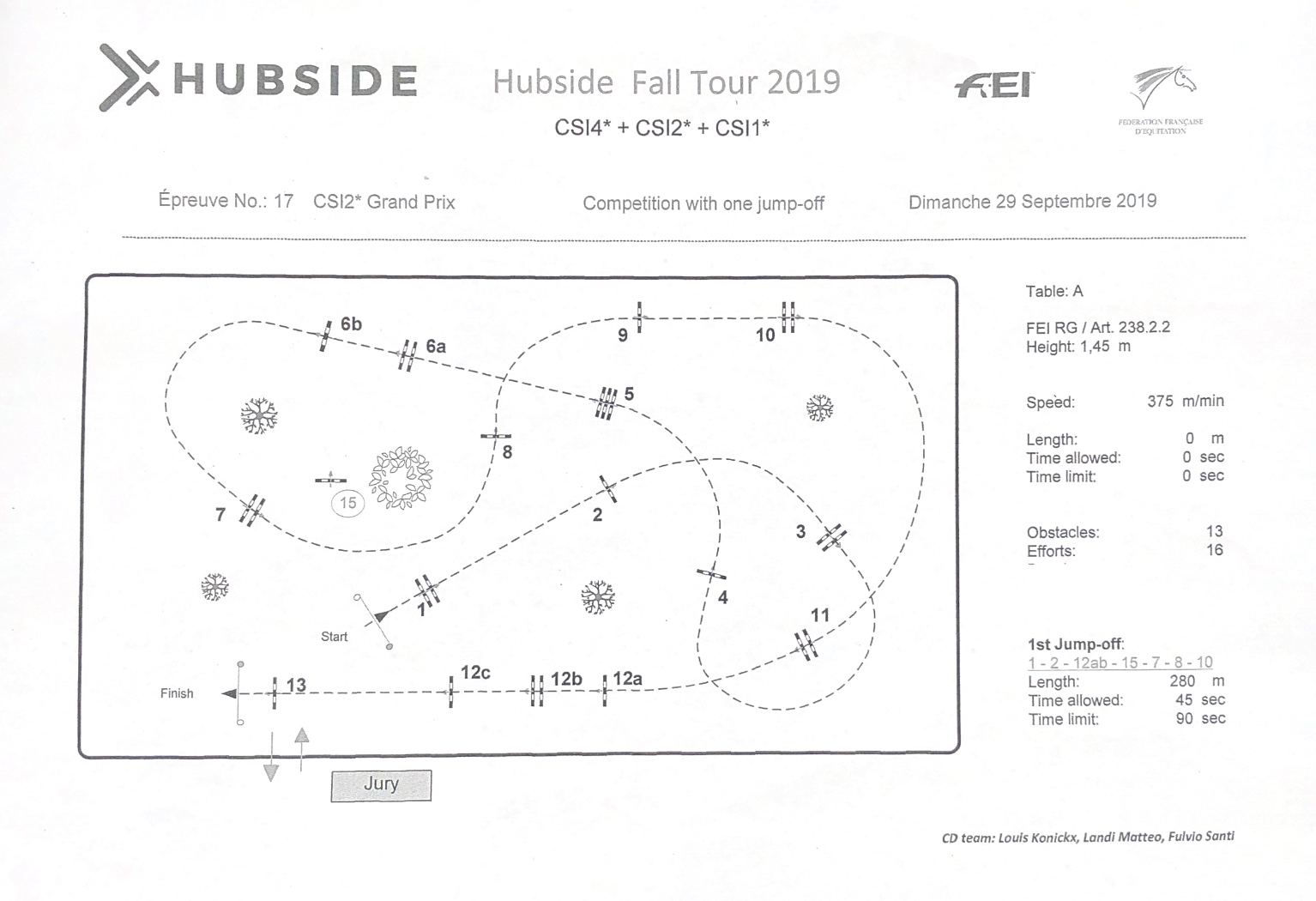 Hubside Fall Tour September